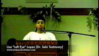 Download Dr. Sebi Healing Testimony From Singer Lisa ″Left Eye″ Lopez [enblacklopedia] Video