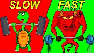 Download Slow Reps vs Fast Reps (5X YOUR GAINS) Video