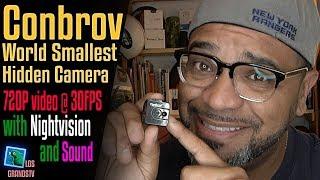 Download Conbrov T16 Spy Cam Hidden Camera 📷 : LGTV Review Video