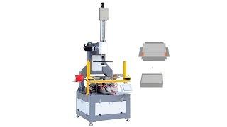 Download Semi Automatic Rigid Box Forming Machine Video