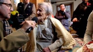 Download 29 Novembre 2016, Emma Morano, la donna piu' vecchia del mondo, festeggia il suo 117 compleanno. Video