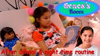 Download After School & Night Time Routine | Grace's Room Video