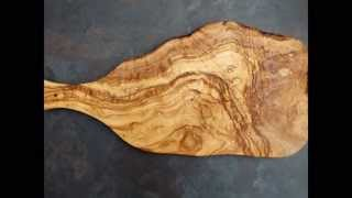 Download Olivewood chopping boards, cheeseboards and display boards Video