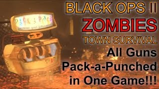Download All Guns Pack a Punched in One Game | Black Ops 2 Zombies Challenge Game Video