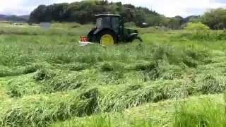 Download JOHNDEERE JD-6110MC KUHN ディスクモアGMD600 イタリアン1番 Video