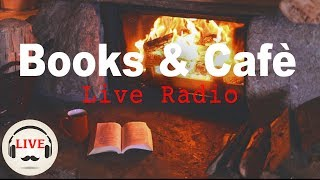 Download Cozy Jazz & Bossa Nova Music With Fireplace - 24/7 Live Stream - Relaxing Cafe Music Video