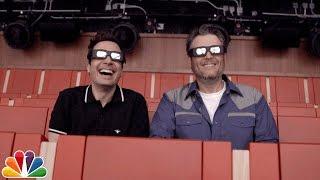 Download Jimmy Fallon Gives Blake Shelton a Tour of ″Race Through New York″ Video