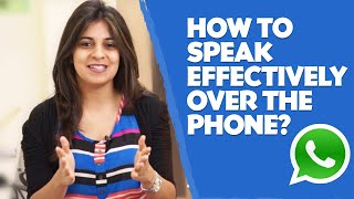 Download How to speak effectively over the phone? - English lesson - Telephone skills Video