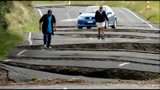 Download New Zealand Earthquake Leaves Roads Crumbled, Land Collapses and Landslides Video