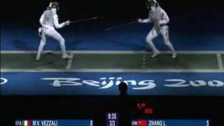 Download Beijing 2008 - Women's foil - M.V. Vezzali v L.Zhang Part 4/4 Video