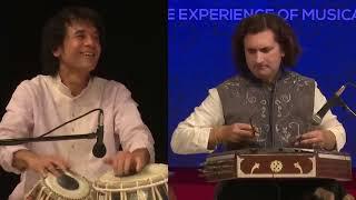 Download Ustad Zakir Hussain and Rahul sharma - #Tabla and #Santoor Video
