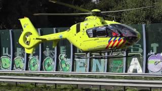 Download Motorrijder Zwaargewond geraakt op A58 Tilburg Traumahelikopter landt op snelweg Video