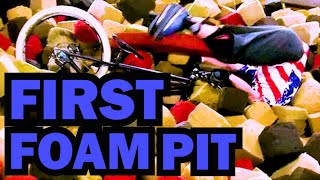 Download First Foam Pit | Ray's Indoor MTB Park Video