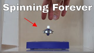 Download Will a Levitating Gyroscope Spin Forever in a Vacuum Chamber? Video