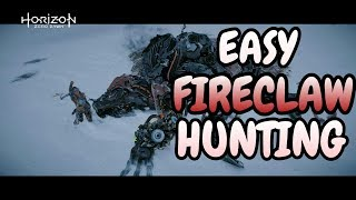 Download Horizon Zero Dawn™: The Frozen Wilds   Easy Fireclaw Hunting   NG+ Ultra Hard Video