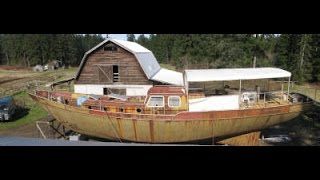 Download Paul's 65ft Origami Steel Chinese Junk Sailboat Video
