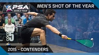 Download Squash: Men's Shot Of The Year 2015 - The Contenders Video