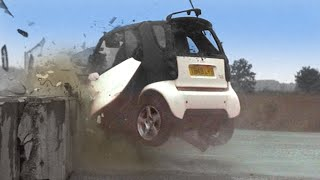 Download Smart Car Crash Test #TBT- Fifth Gear Video