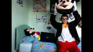 Download How to Put on the Mickey Mouse Mascot Costume Video