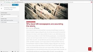 Download CoverNews - Theme setup using Live Customizer Video