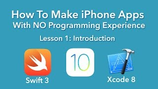 Download How To Make an App - Ep 1 - Introduction (Xcode 8, Swift 3, iOS 10) Video