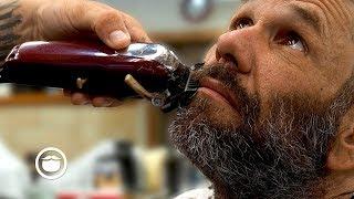 Download Homeless Gentleman's Amazing Barbershop Transformation (Spread the Love) | South Austin Barbershop Video