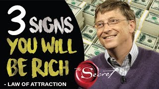 Download 3 Signs You Will Become Rich | Law of Attraction Video
