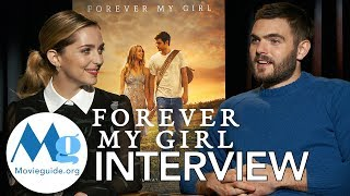 Download FOREVER MY GIRL Interview: Jessica Rothe & Alex Roe Video