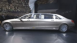 Download First Look: $1M Armored Mercedes-Maybach Pullman Video