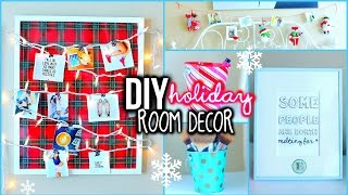 Download DIY Holiday Room Decorations! + Easy Ways To Organize! Video