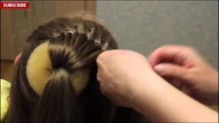 Download Beautiful festive hairstyle for girls | Back-to-School | Best Hairstyles for Girls 2018 Video