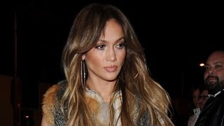 Download Jennifer Lopez Steps Out in Chic Vest for Another Night Out With Drake - See the Pic! Video