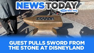 Download Guest Pulls Sword from Stone, PeopleMover Goes Back in Time, EPCOT Film Details - News Today 1/15/20 Video