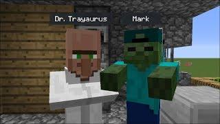 Download Minecraft DR TRAYAURUS VISITS MARK OUR FRIENDLY ZOMBIE'S HOUSE !! BEST FRIEND VS DANTDM !! Minecraft Video