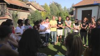 Download 9# Simple knot Teambuilding activity for solving problems Video