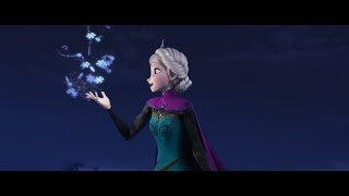 Download Disney's Frozen ″Let It Go″ Sequence Performed by Idina Menzel Video