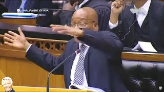Download Chaos In Parliament | Bantu Holomisa vs Jacob Zuma On CPS & NET1 Video