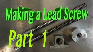 Download How to make a LEAD SCREW Video