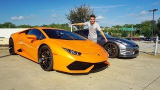 Download Lamborghini Huracan LP 610-4: Start Up, Exhaust, Test Drive and Review Video