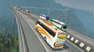 Download EFISIENSI jalur tol Ungaran || ets2 bus mod indonesia Video