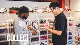 Download Australia's Michael Fan Shows Off One of the Most Insane Sneaker Collections Ever Seen   iCollect Video
