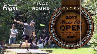 Download Music City Open 2017 Final Round Disc Golf Tournament Video