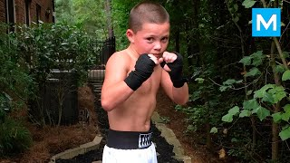 Download 10-Year-Old Boxing Genius Javon Walton | Muscle Madness Video