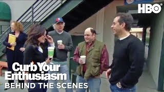 Download BTS w/ Larry David & the Seinfeld Cast | Curb Your Enthusiasm | Season 7 Video