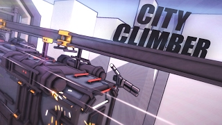 Download CLIMBING A SPEEDING TRAIN!!! - City Climber (Game / Gameplay) #2 Video