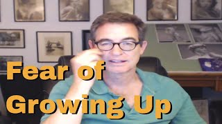Download Resisting Being an Adult - Fear of Growing Up - Tapping with Brad Yates Video