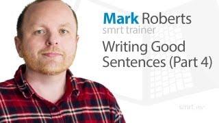 Download Writing Good Sentences (Part 4) Video