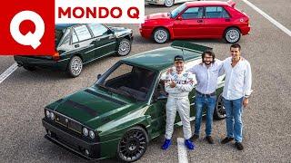 Download Lancia Delta Futurista, in pista con Miki Biasion e una marea di Deltoni! Video