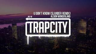 Download Alison Wonderland - U Don't Know (Slander Remix) Video