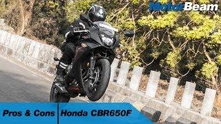 Download Honda CBR650F - Pros & Cons | MotorBeam Video